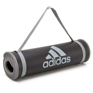 【送料無料】【よりどり3個以上で各200円引き】【同梱不可】adidas(アディダス)トレーニングマットグレーADMT12235-GR【定番】