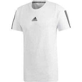 【2000円均一】【廃番】adidas(アディダス)メンズM MUSTHAVES 3STRIPES Tシャツホワイト×ブラックFSD70-DQ1453【19★】●●