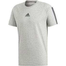 【2000円均一】【廃番】adidas(アディダス)メンズM MUSTHAVES 3STRIPES TシャツミディアムグレイFSD70-DT9897【19★】●●