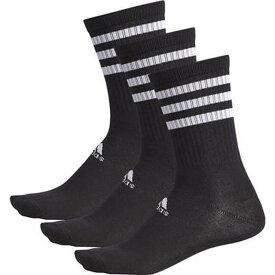 【1000円均一】【廃番】adidas(アディダス)ユニセックス91 BASIC 3P レギュラーソックスブラック×ブラック×ブラックDMK55-BR6134【20☆】