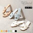 スクエアサンダル フラットサンダル サンダル レディース 痛くない 歩きやすい リゾート 靴 シューズ おしゃれ 可愛い…