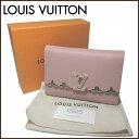 ルイ・ヴィトン LOUIS VUITTON LV 財布 M64583 レザー ポルトフォイユ・カプシーヌ コンパクト【RCP】【0815楽天カード分割】【レディ…