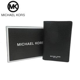 ●BOX付●マイケルコース ブティック Michael Kors カードケース 39F5LHRE5L レザー 二つ折り カードケース HARRISON / BIFOLD / BLACK(ブラック)【メンズ】【RCP】【楽天カード分割】