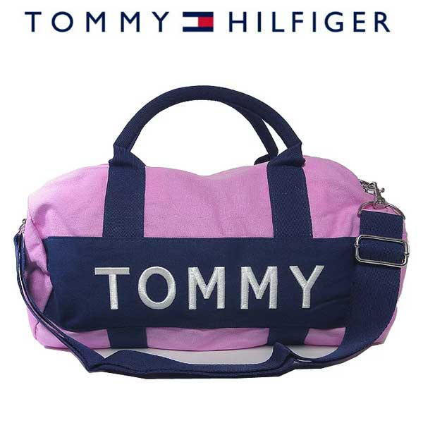 トミー・ヒルフィガー Tommy Hilfiger ショルダーバッグ 6922644 -692 キャンバス 2way ミニボストン PINK CADILLAC(ピンク キャデラック)【RCP】【楽天カード分割】【レディース】【学生】【メンズ】