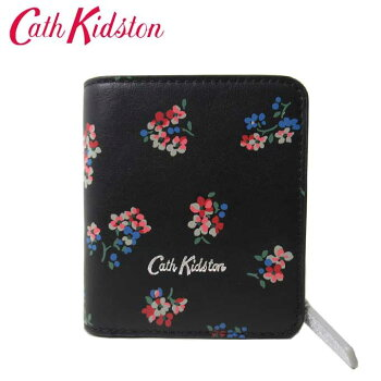 キャスキッドソン財布二つ折り財布レディース710329レザー花柄小銭入れCathKidston送料無料【ギフト】
