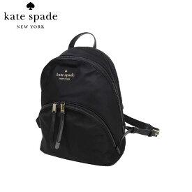 【10%OFF】ケイトスペード アウトレット kate spade ショルダーバッグ WKRU6586-001 カリッサ ナイロン ミディアム バックパック / リュック large backpack / karissa nylon / black(001):ブラック【レディース】