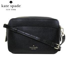 【決算SALE】ケイトスペード kate spade ショルダーバッグ WKRU7064-001 レザー カメラバッグ black(001)【レディース】【ギフト】
