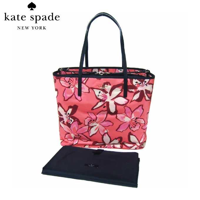 ケイト・スペード ブティック kate spade トートバッグ PXRU6728-977 harmony / baby bag classic nylon ナイロン マザーズバッグ フラワー柄 (977)surcormult:ピンク系マルチ【RCP】【レディース】