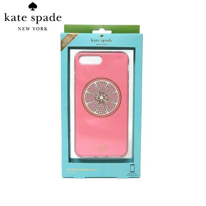 ケイト・スペード アウトレット kate spade モバイルケース WIRU0578-974 iPhone7+(プラス) 対応ケース グレープフルーツ (974)multi:ピンク系【RCP】【楽天カード分割】【レディース】