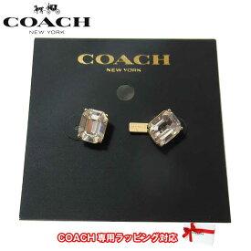 コーチ アウトレット COACH アクセサリー F73036 ビジュ ロゴ ピアス RS/PK(ピンクゴールド×ピンク)【メール便対応(ネコポス)】【RCP】【0815楽天カード分割】【s-mail03】
