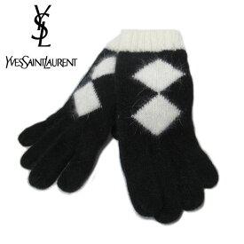 【\5%OFF/期間限定クーポン配布中】【中古(SAランク 展示品)】イヴ・サンローラン Yves Saint Laurent 手袋 グローブ レディース 送料無料【メール便対応(ネコポス)】