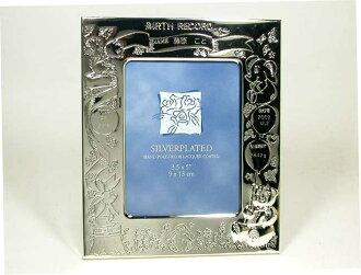 """""""得到銀完成名,用嬰兒照片架子RB6034""""佩斯唱片(名字,出生年月日,體重)刻下封印。 不過被在世界紀念1張一生"""