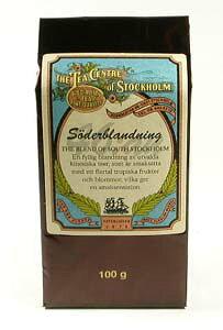 スウェーデン王室で愛されている絶品紅茶『北欧紅茶100gリフィル セーデルブレンド』自然の花々とフルーツのブレンドが甘く優雅な香り
