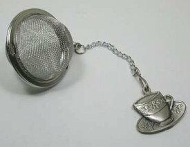 ティーインフューザー・茶漉し「ティーカップ」茶葉をメッシュ部分にいれて、ティーバッグのように使える茶漉し。