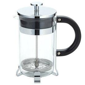 アラジン コーヒー・ティーメーカー 600ml(007790)ガラス製 カップ約5杯分 ティーサーバー プレスコーヒー 抽出 ティータイム ブレイクタイム 薬膳 中国茶 花茶 透明 クリスマス xmas
