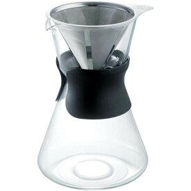 【送料無料】アラジン コーヒーメーカー1000ml(ステンレスドリッパー付)(007806)ガラス製 約7杯分 コーヒーサーバー ネルドリップ 抽出 ブレイクタイム フラスコ型 カラフェ 円錐 デキャンター 透明