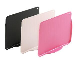 居間板(M-31)ブラック/ホワイト/ピンク リビングでも使えるカッティングボード! おぼんとしても使えます