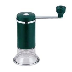 MILLUセラミック お茶ミル(MI-001)キッチン 茶葉 細かく 手挽き スローライフ 水洗い さびにくい グリーン【日本製】