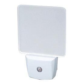 LEDナイトランプ クリアホワイト(SV-4250)足元灯 フットライト 小型 コンセント式