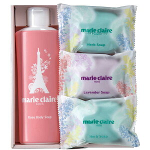 マリ・クレール ソープギフト (S) IMC-10 石鹸 ボディソープ 美容 うるおい 香り ギフト 母の日