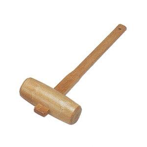 樫の木の木槌 48cm(47057)つち ハンマー 天然木 カシ 鏡割用 クラフト ハンドメイド オリジナル 木工 工具 国産【日本製】