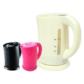 電気ケトル ケトル 電気ポット コードレス ホワイト ブラック ピンク 容量0.8L 800w 湯沸しランプ フィルター やかん 【送料無料】 ###電気ケトルKK-811###