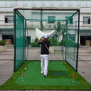 ゴルフ練習ネット大型3mゴルフネット3M練習用プロ仕様ゴルフ練習ネット据え置き自宅庭ガレージ野球テニス練習トレーニング運動不足解消【送料無料】###ゴルフネット3M-G/W◇###