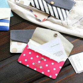 スヴェルト カードケース【全4色】《おしゃれ/大人/かわいい/可愛い》【メール便あす楽対象外】