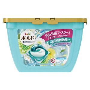 【P&G】 ボールド ジェルボール3D 爽やかプレミアムクリーンの香り 本体(17個入)【4902430166058】【ジェルボール洗剤】