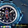 ケンテックスブルーインパルスT-4限定モデルソーラーS720M-02航空自衛隊パイロット腕時計20周年記念限定モデル