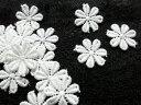 人気のコットンケミカル 花柄モチーフレース 30枚入り 3A-00801送料最安値は定形郵便84円