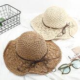 リバーシブルハットレディース帽子ぼうしハット紫外線対策夏無地リバーシブルつば広イエローレッドアイボリーベージュホワイト紺ネイビー黒ブラック旅行かわいいおしゃれシンプルclf83【P】