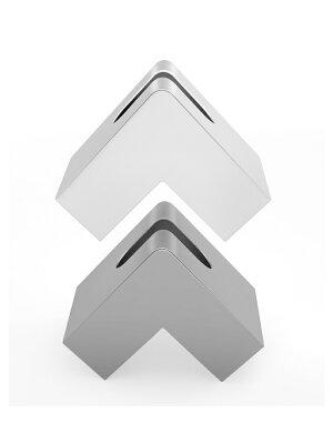ティッシュケース二つ折りテイッシュケースティッシュボックステイッシュカバー二つ折りコンパクト省スペースおしゃれインテリアグレー灰色ホワイト白スタイリッシュモノトーンint-050