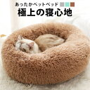 ペットベッド 50cm ペットハウス 犬 猫 犬ベッド 猫ベッド ペットクッション クッション 猫用 犬用 ペット用 やわらかい ベッド 可愛い 猫グッズ おしゃれ かっこいい 小型犬 座布団 ふわふ
