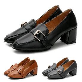 ローファー スクエアトゥパンプス マニッシュシューズ ヒール5cm ブラック 黒 グレー キャメル茶色ブラウン 大きいサイズ 3L レディース靴コスプレ lacerise ラセリーズ tm-265 靴 レディース 【P】