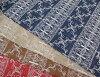 Cotton embroidery race (four colors)