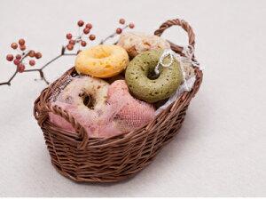 『元祖・玄米ごはんドーナツ・ブルーベリーチーズケーキ』