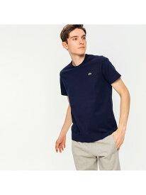 ベーシッククルーネックTシャツ(半袖) LACOSTE ラコステ カットソー Tシャツ ネイビー ホワイト ブラック【送料無料】[Rakuten Fashion]
