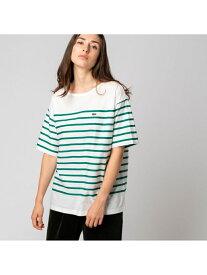 【SALE/30%OFF】リップルボーダージャージTシャツ LACOSTE ラコステ カットソー Tシャツ【RBA_E】【送料無料】[Rakuten Fashion]