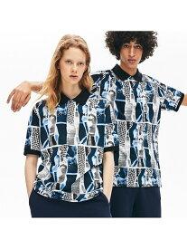 【SALE/50%OFF】ユニセックスプリントデザインボタンダウンシャツ LACOSTE ラコステ カットソー ポロシャツ【RBA_E】【送料無料】[Rakuten Fashion]