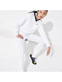 【SALE/50%OFF】撥水性テニススウェットパンツ LACOSTE ラコステ パンツ/ジーンズ スウェットパンツ ホワイト【RBA_E】【送料無料】[Rakuten Fashion]