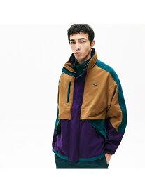 [Rakuten Fashion]90sスタイルカラーブロックパーカージャケット LACOSTE ラコステ コート/ジャケット ブルゾン【送料無料】