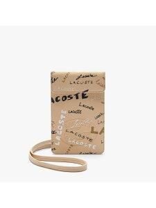 クロコ クルー シーズナル スマホポーチ LACOSTE ラコステ ファッショングッズ 携帯ケース/アクセサリー ホワイト【送料無料】[Rakuten Fashion]