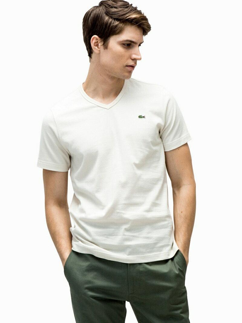 [Rakuten BRAND AVENUE]LACOSTE (M)ベーシックVネックTシャツ (半袖) ラコステ【送料無料】