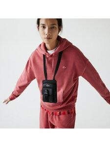SOFT MATE スマホポーチ LACOSTE ラコステ ファッショングッズ 携帯ケース/アクセサリー ブラック【送料無料】[Rakuten Fashion]
