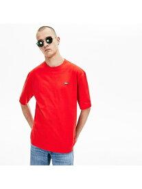 [Rakuten Fashion]【SALE/50%OFF】『LACOSTEL!VE』ワイドTシャツ LACOSTE ラコステ カットソー Tシャツ ホワイト ブラック ネイビー【RBA_E】