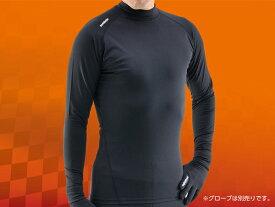 バイク用品 ウェアHENLYBEGINS ヘンリービギンズ HBV010リフレヒートインナーシャツ BK #XL90924 4909449471234取寄品 セール