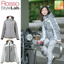 バイクジャケットROSSO STYLELAB(ロッソスタイルラボ)ソフトシェルアクティブベントジャケット ROJ-977レディース 女…