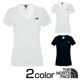 ノースフェイス Tシャツ シンプルドーム THE NORTH FACE ロゴ 半袖 Simple Dome WomenT-Shirts TNF White / TNFBlack XS Tシャツ XS/S/M/L ロゴT レディース nf00a3h
