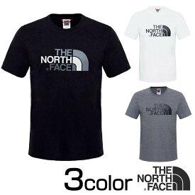 ノースフェイス Tシャツ 半袖 イージー Tシャツ TNF Black ブラック 黒 TNF Medium Grey Heather グレー S M L THE NORTH FACE TNF White nf0a2tx3 父の日ギフト 父の日プレゼント